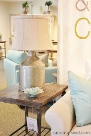 galvanized milk jug lamp havertys