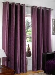 Purple Bedroom Curtain