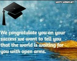 Graduation Wishes Quotes Magnificent Happy Graduation Wishes Quotes And Images Congratulations To