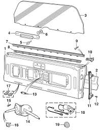 tailgate and parts 1980 96 bronco lmc truck  at Wiring Diagram For Rear Window Full Size Bronco