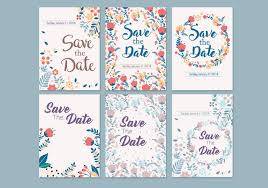 save the date template free download wedding save the date template vector download free vector art