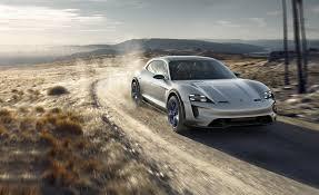 Porsche Mission E Cross Turismo Concept: It\u0027s An Electric Wagon