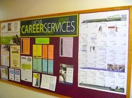 office bulletin board design. career services bulletin board office design