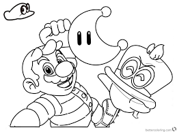 Super Mario Coloring Pages To Print Wumingme