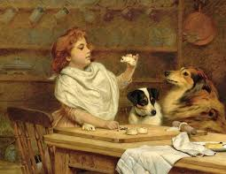 charles burton barber the little baker with her two assistants