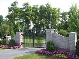 What a way to say Welcome Home! Residential Fence Photos | Fences, Decks,.  Entrance GatesDriveway ...