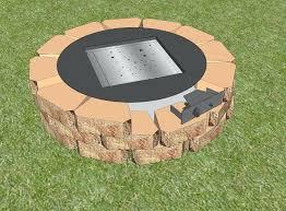 modern fire pit burner kit lovely propane outdoor fire pit kit rectangular burner bowl gas fire