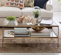 leona coffee table glass coffee table