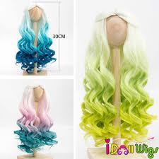 1/6 1/4 1/3 Scale <b>BJD Wig</b> Hair High Quality <b>Heat</b> Resistant Wire ...