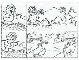 Three Billy Goats Gruff Worksheets Best | Kiddo Shelter