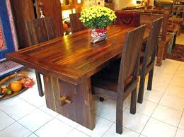 teak dining table 3 foot x 6 foot with