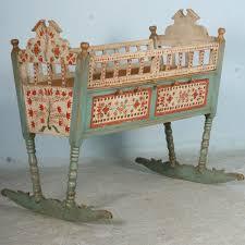 painted baby furniture. Painted Baby Furniture. Antique Original Crib Bassinet Rocker, Circa 1850 Furniture