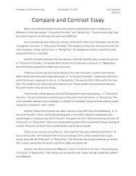 Best Essay Examples Best Essay Examples Comparison Essay Examples