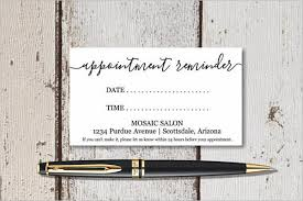 Appointment Card Template 22 Appointment Card Templates Free Psd Pdf Design Ideas