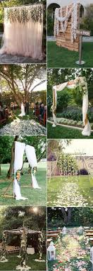 Outdoor DIY Wedding Decorations That Are Easy To MakeDiy Backyard Wedding Decorations
