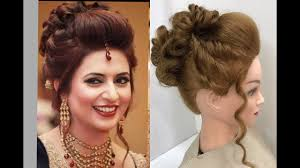 Wedding Hair Style Picture 3 beautiful hairstyles with puff easy wedding hairstyles youtube 6737 by wearticles.com