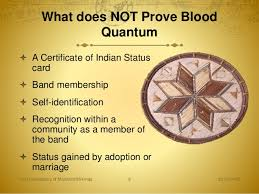 Bureau Of Indian Affairs Blood Quantum Chart Us Guide Presentation March 2016