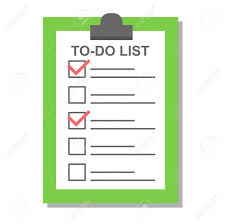 to do lis flat check list icon organizer report notepad task questionnaire