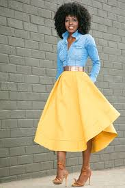 Image result for fashion flared skirts