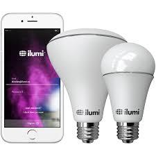 Illumi Light Bulbs A19 Color Led Smart Light Bulb With Bluetooth Mesh Ilumi