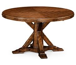 parquetry dining table single pedestal