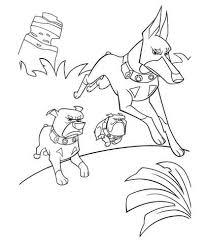 Honden Vallen Aan Kleurplaat Gratis Kleurplaten Printen
