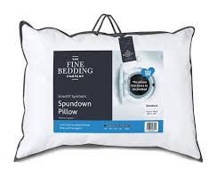 the fine bedding company spundown firm support pillow loading zoom