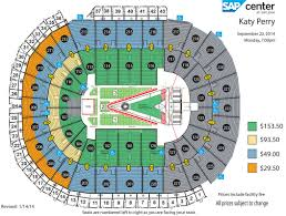 Prudential Center Seating Chart Katy Perry