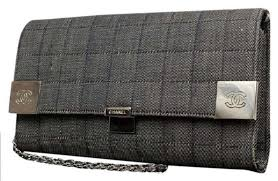 Chanel Quilted Denim Woc 214364 Grey Clutch – Bagriculture & ... Chanel Quilted Denim Woc 214364 Grey Clutch ... Adamdwight.com