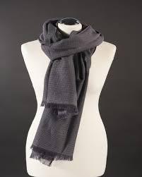 <b>Handmade 100</b>% wool scarf - <b>Natural</b> fiber - Srishti- – on Fairmotions