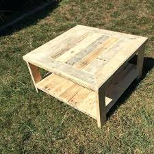 how to make a coffee table from a pallet great pallet coffee table the throughout homemade