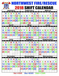Firefighters Shift Calendar 2020 48 96 Shift Calendar 2020 Free Printable Calendar