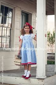 Dorothy Costume   Dorothy Dress   Wizard Of Oz Costume   Dorothy Bow    Infant Costume   Toddler Costume   Girl Costume   Birthday Outfit