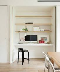 closet to office. make the study nook disappear if you wish by concealing closet to office t