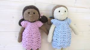 Amigurumi Doll Patterns Magnificent How To Crochet An EASY Doll Toy Amigurumi Doll Pattern YouTube