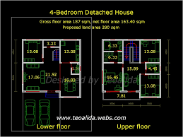 2 y house floor plan autocad two y residential building floor plan fresh malaysia hous on