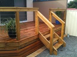 Wood Deck Stairs New Home Design How To Make Simple Deck Stairs