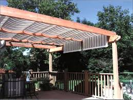 patio awning side panels example pergola covers and shades windows pros cons
