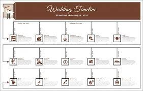 Wedding Timeline Fascinating 48 Wedding Timeline Templates PSD AI EPS PDF Word Excel