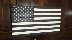 thin blue line black and white american flag american flag with blue stripe rustic furniture