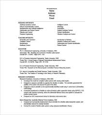 1 Page Resume Example Gorgeous One Page Resume Template 28 Free Word Excel PDF Format Download