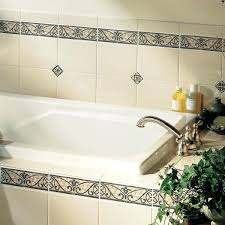 Decorative Ceramic Tile Accents Accent Tile Vertical Accent Tile In Shower Bathroom Marble Accent 75