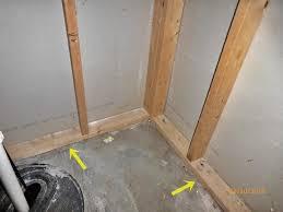 when does basement wall framing demand