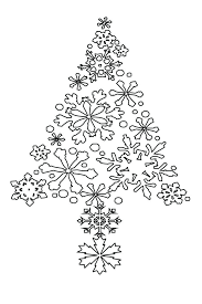 Coloring Pages Christmas Tree Coloring Pages Printable Happy