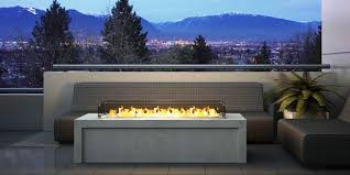 modern outdoor propane fireplace kits