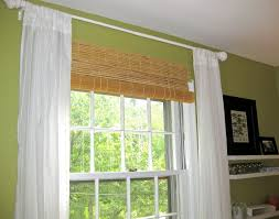 Blinds And Curtains Together Living Room Attractive Window Treatment Pictures Awesome Bay