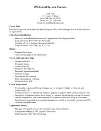 Marketing Analyst Resume Resume Badak