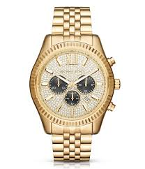 michael kors accessories watches men s watches dillards com michael kors lexington pavé dial chronograph date bracelet watch