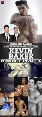 Kevin Baker Model And Alleged Calvin Klein s Latest BoyToy.