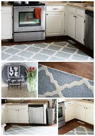 interesting large kitchen rugs with area for decoration